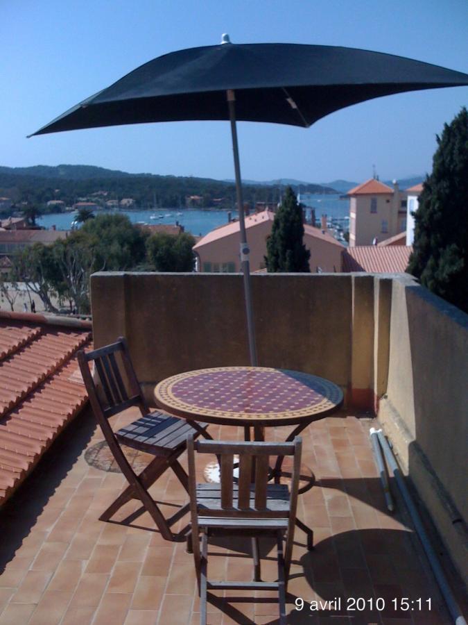 Location Studio terrasse sur le toit Le clos des Galéjades Village Porquerolles - Le Clos des Galéjades