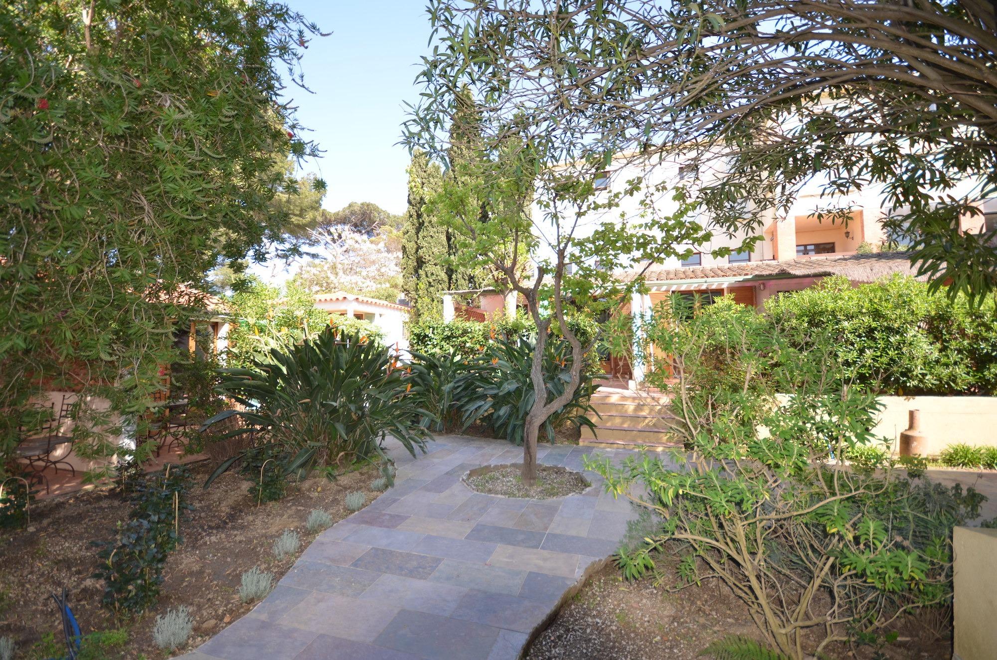 Jardin de la résidence du Village - Le Clos des Galéjades Porquerolles